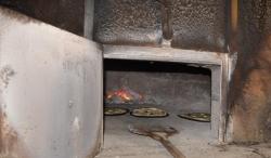 Bonnes pizzas cuites...