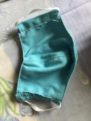 Masque en tissu fait...