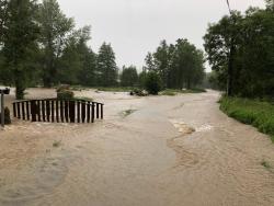 Le Moulin sous les eaux
