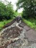 Chemin des Vignes détruit