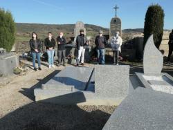 Travaux au cimetière
